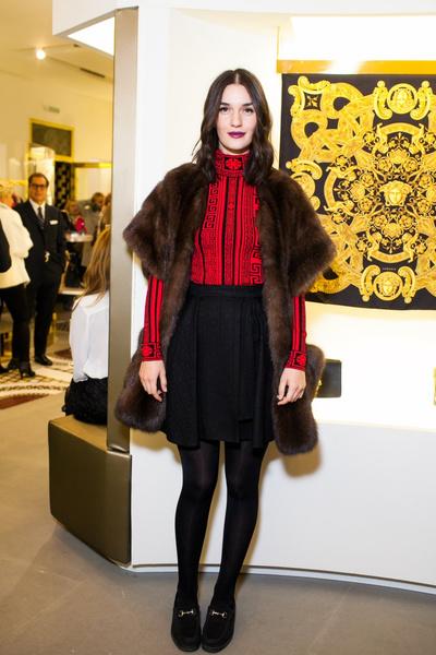 Селебрити на презентации осенней коллекции Versace | галерея [1] фото [7]