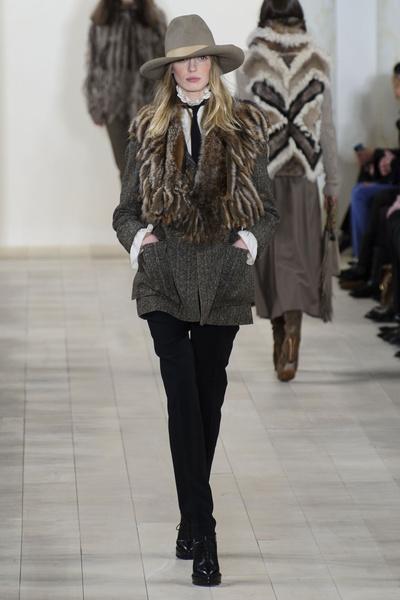 Показ Ralph Lauren на Неделе моды в Нью-Йорке | галерея [1] фото [29]