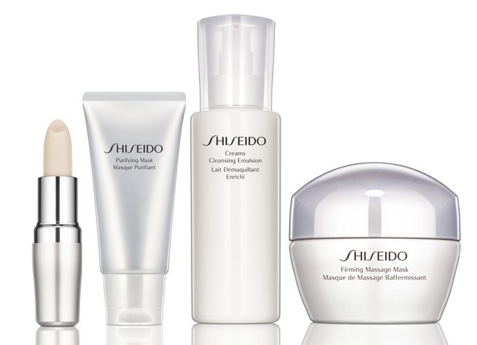 Новинки ухода от Shiseido