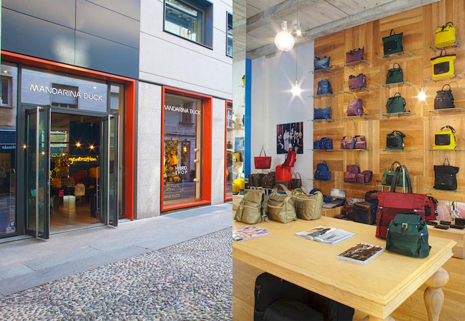 Открытие бутика Mandarina Duck в Милане