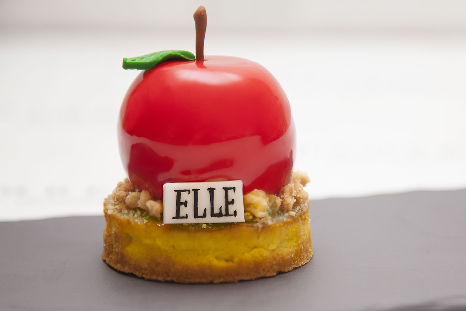 Десерт ELLE в ресторане Ribambelle