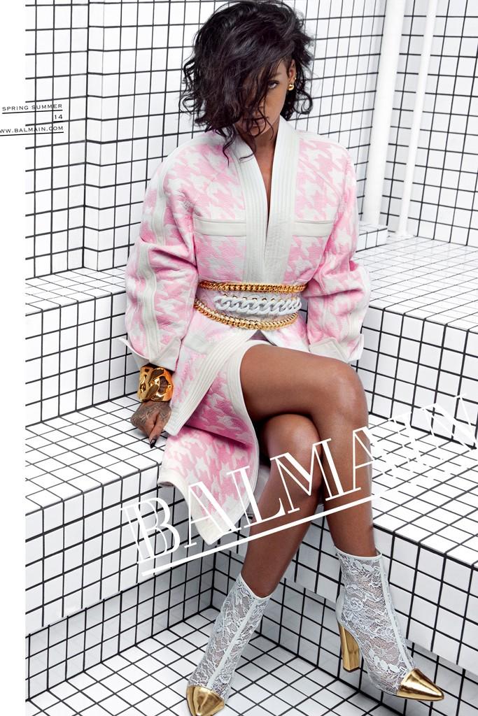 рианна в рекламной кампании 2014