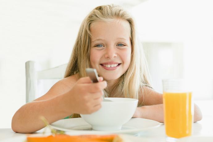 дети питание
