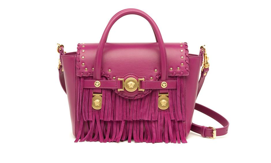 лимитированная модель сумки F.Signature от Versace