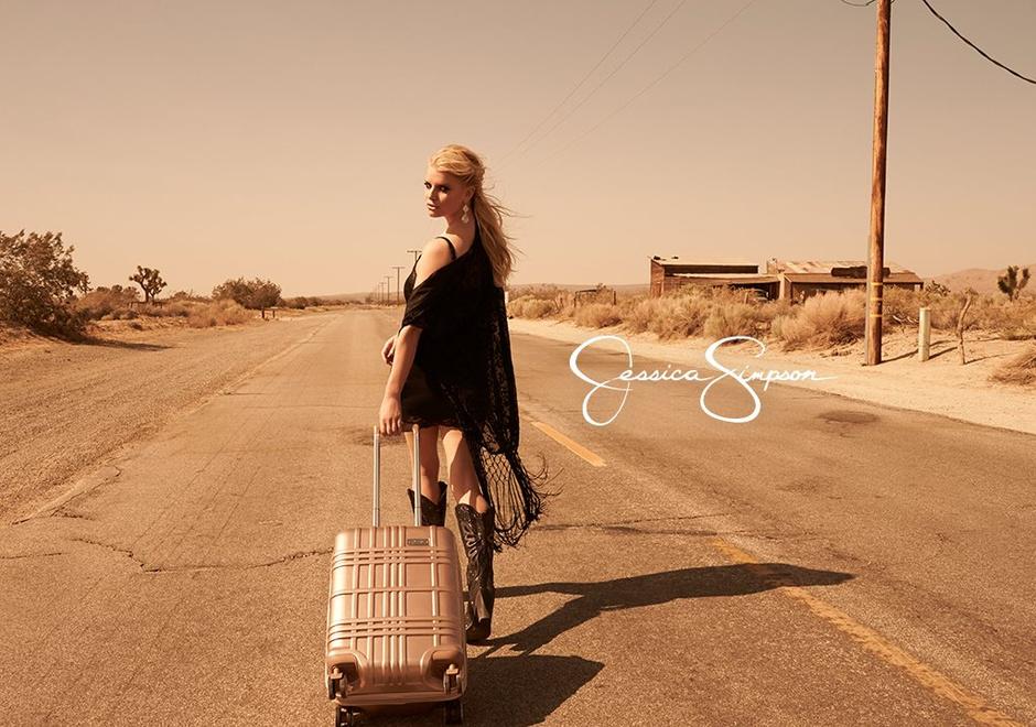 Джессика Симпсон в новой рекламной кампании своего бренда 2