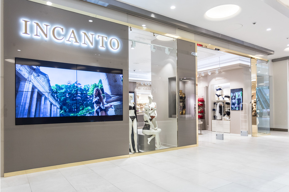 Новый магазин Incanto в «Афимолле»