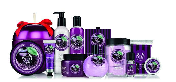 """Рождественская коллекция """"Зимняя слива"""" The Body Shop"""