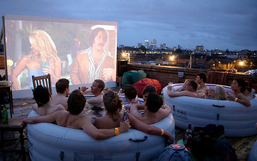 Hot Tub Cinema (Лондон, Великобритания)