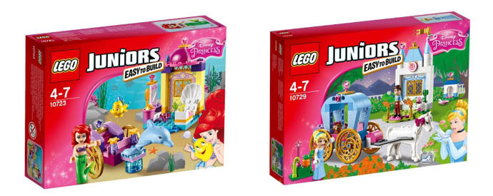 LEGO Juniors для девочек