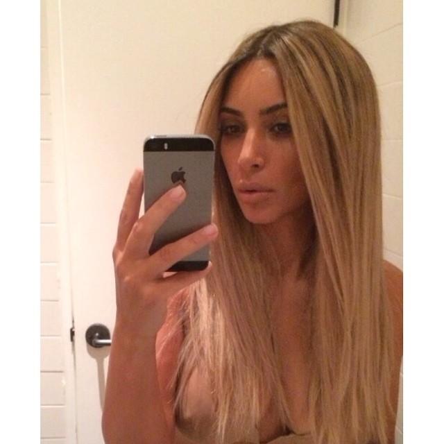 Ким Кардашьян в Instagram
