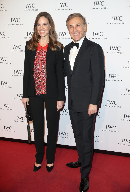 Звезды на гала-ужине IWC Schaffhausen в Женеве
