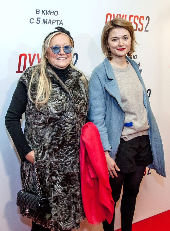 Татьяна и Надежда Михалковы