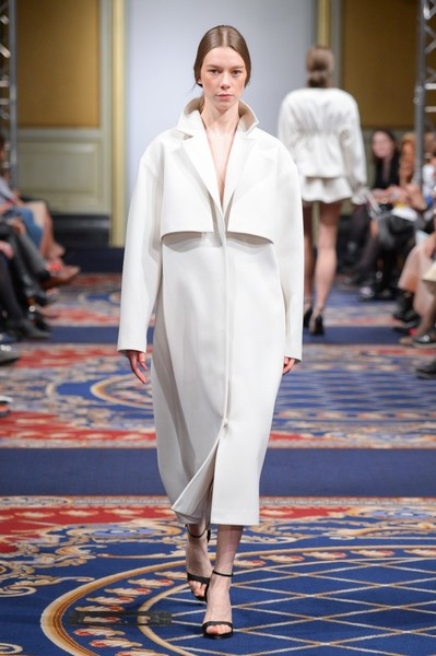 Показ осенне-зимней коллекции Ruban на Mercedes-Benz Fashion Week RussiaПоказ осенне-зимней коллекции Ruban на Mercedes-Benz Fashion Week Russia | галерея [2] фото [14]