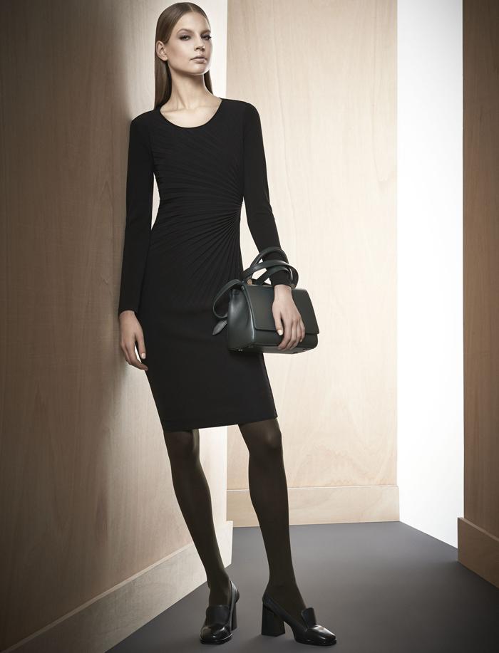 Модное платье для работы