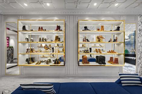 В Лондоне открылся первый флагманский магазин Aquazzura | галерея [1] фото [3]