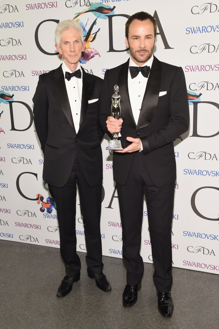 Том Форд с мужем: фото