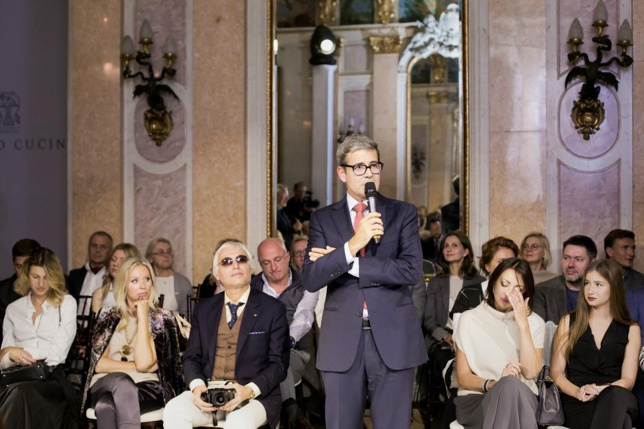 Знаменитости на показе Brunello Cucinelli в Москве