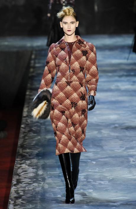 Показ Marc Jacobs на Неделе моды в Нью-Йорке