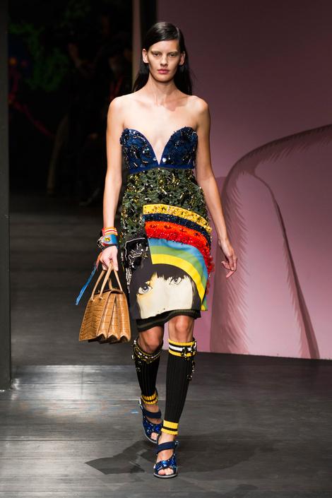 Prada на Неделе моды в Милане