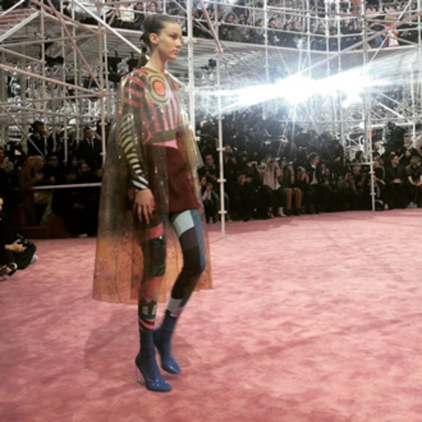 От первого лица: Неделя моды Haute Couture глазами редактора ELLE | галерея [3] фото [5]