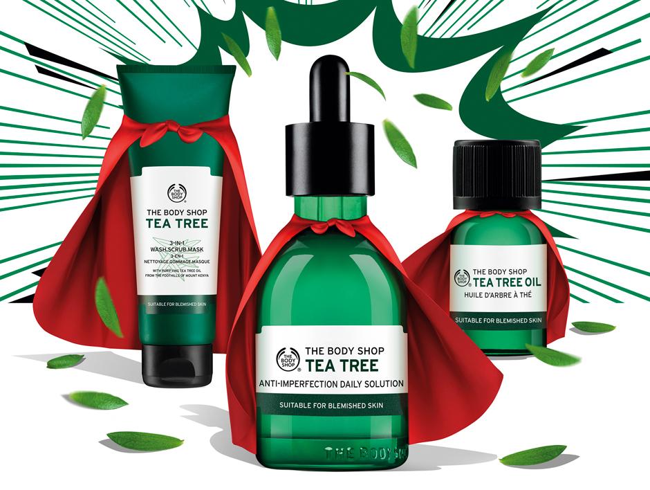 The Body Shop представили новую линию Tea Tree против несовершенств кожи