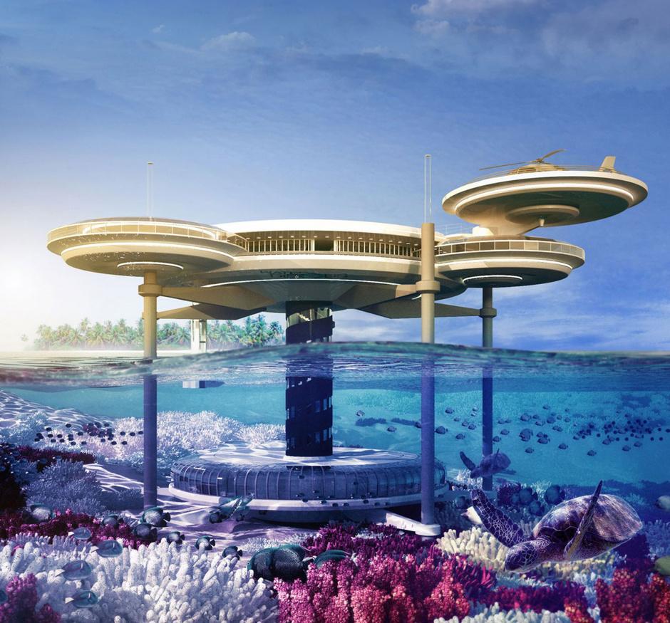 подводный отель 2014