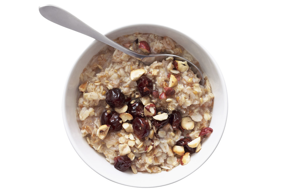 Овсянка полезна на завтрак