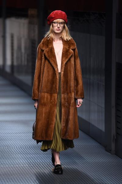 Показ Gucci на Неделе моды в Милане | галерея [1] фото [28]