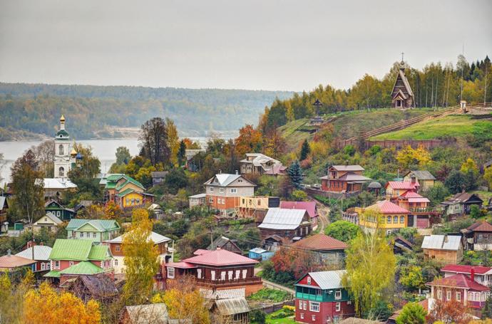 Плёс, Ивановская область