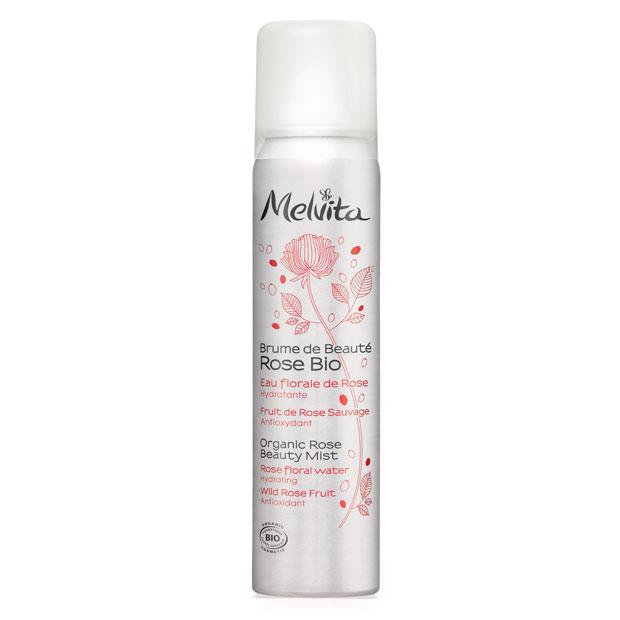 Цветочная вода-аэрозоль Розовая вуаль от Melvita