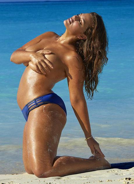 Модель plus-size Эшли Грэм стремительно теряет вес