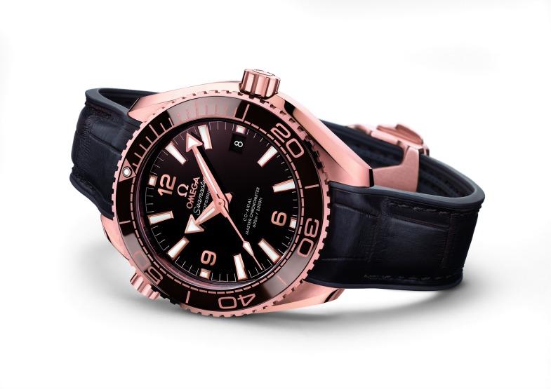 OMEGA презентовала первые «шоколадные» часы