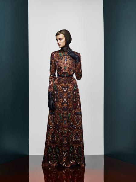 Хозяйка Медной горы: новая pre-fall коллекция A LA RUSSE Anastasia Romantsova | галерея [1] фото [1]