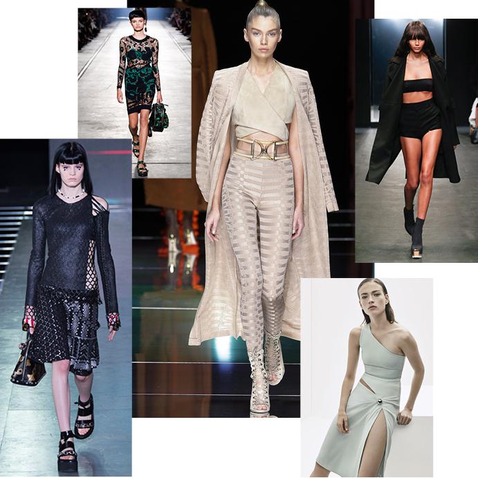 Louis Vuitton, Versace, Balmain, Vera Wang, Mugler (Resort 2016)