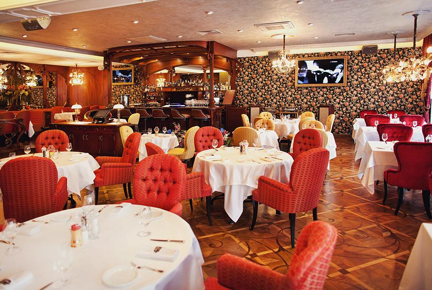 лучшие рестораны 2013