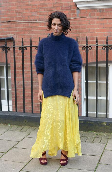 стритстайл неделя моды в лондоне