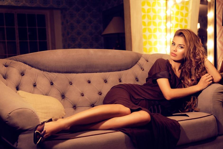 Виктория Боня стала лицом одежды для дома Petit Pas