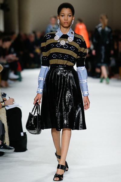 Неделя моды в Париже: показ Miu Miu pret-a-porter осень-зима 2015/16 | галерея [1] фото [7]