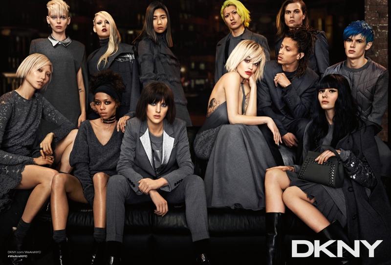 Брючные костюмы от DKNY