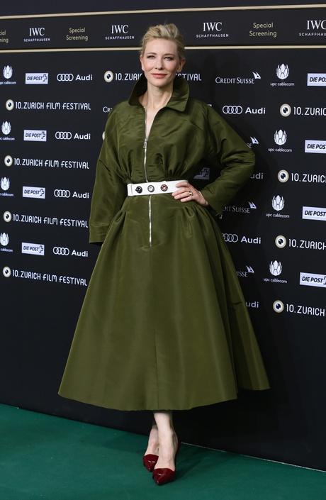 Кейт Бланшетт на премьере фильма «Жасмин»