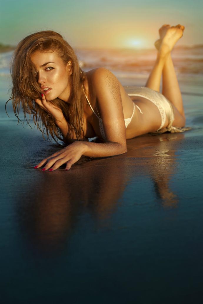 Простые способы скрыть недостатки на пляже