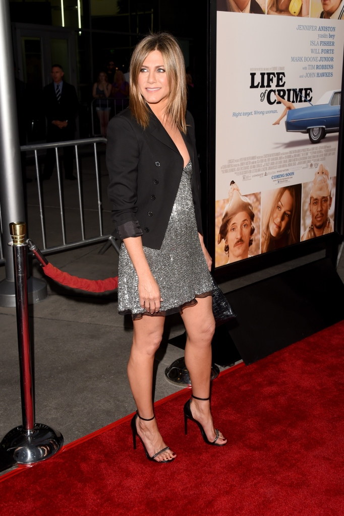 Фото дня: Дженнифер Энистон на премьере фильма «Укради мою жену»