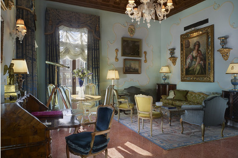 Архитектурное достояние Венеции: отель Gritti Palace | галерея [1] фото [13]