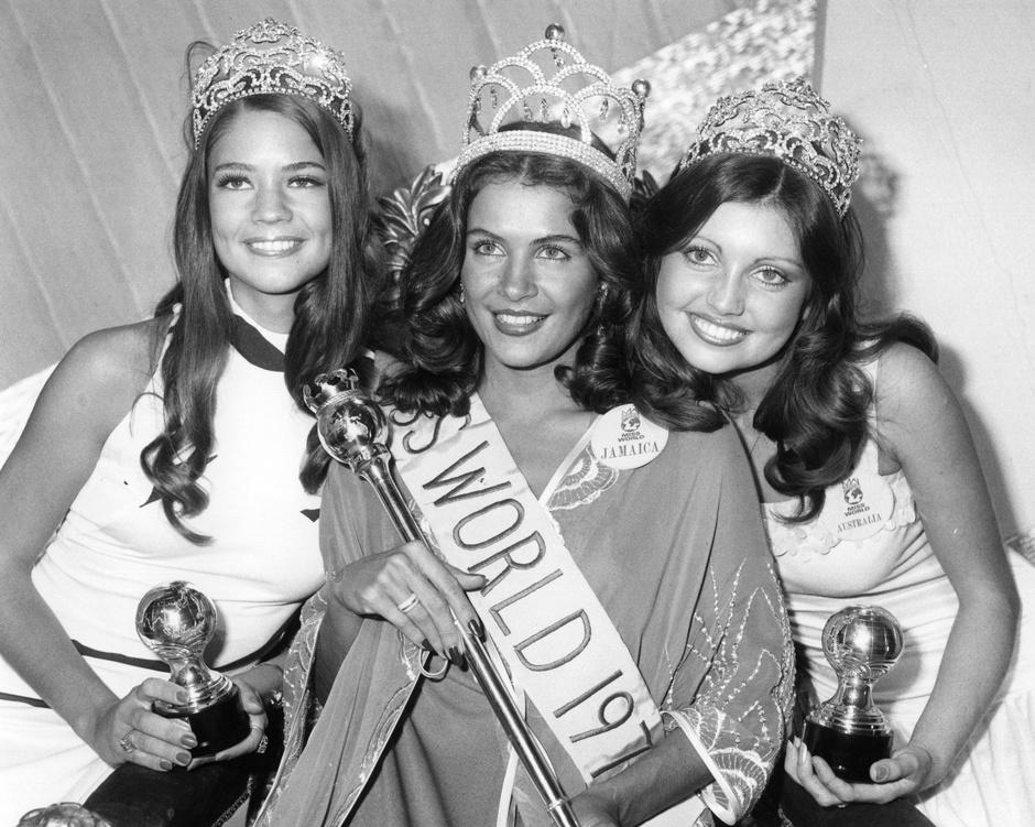 Мисс мира 1976 года Синди Брейкспир