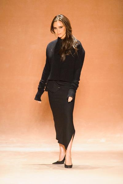 Показ Victoria Beckham на Неделе моды в Нью-Йорке | галерея [1] фото [1]