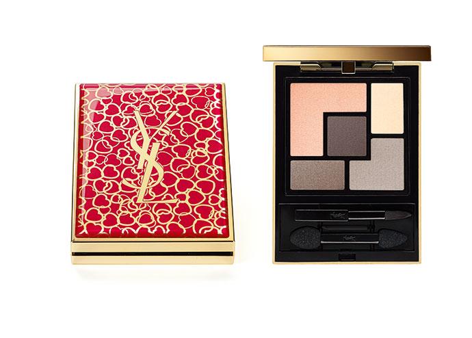 Палетка теней Couture Palette Valentine's Edition от YSL