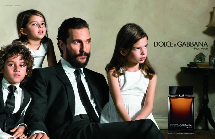 Скарлетт Йоханссон и Мэтью Макконахи в новой рекламной кампании Dolce&Gabbana