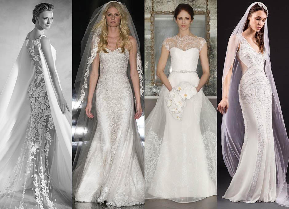 Свадебные платья 2017 Atelier Pronovias, Reem Acra, Romona Keveza, Temperley Bridal