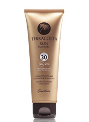 Солнцезащитное увлажняющее средство – уcкоритель загара для лица и тела Guerlain, Terracotta Sun