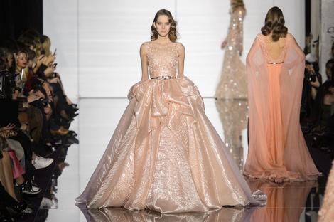 Показ Zuhair Murad Haute Couture | галерея [1] фото [13]